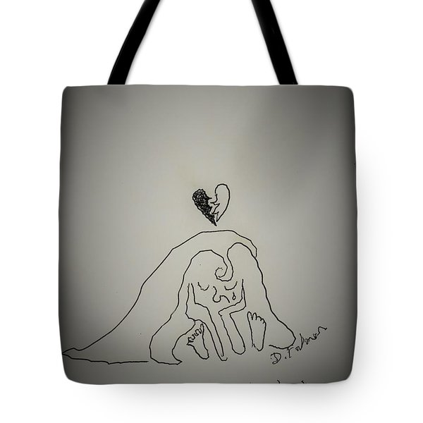 Life Is A Cartoon. Right. Tote Bag