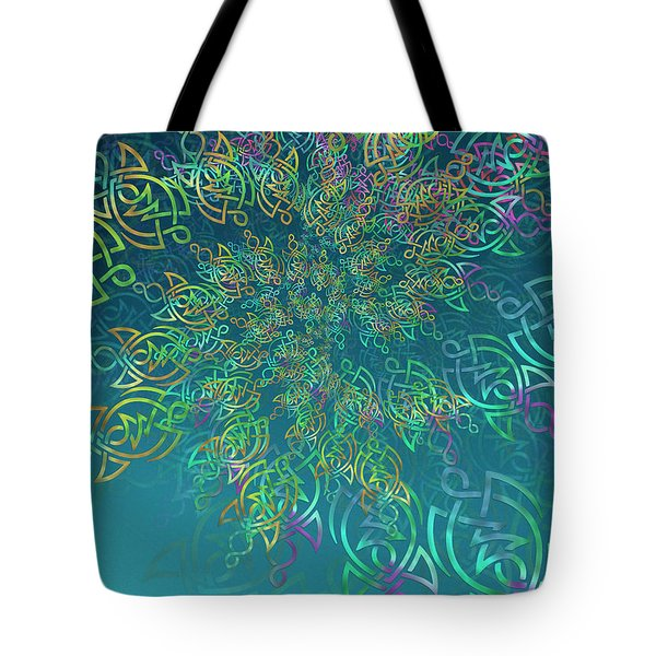 Tote Bag featuring the digital art Life by Vitaly Mishurovsky
