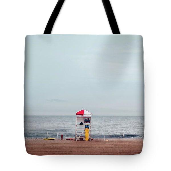 Lifeguard Stand Tote Bag