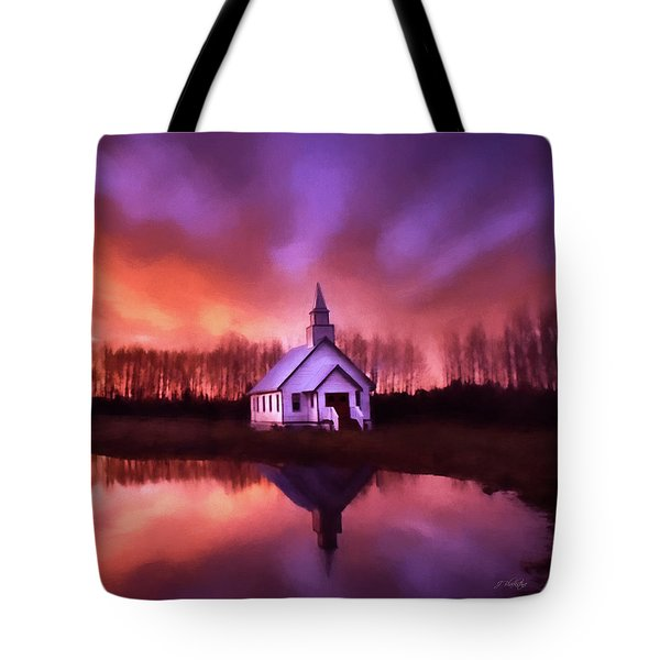 Light In The Dark - Hope Valley Art Tote Bag