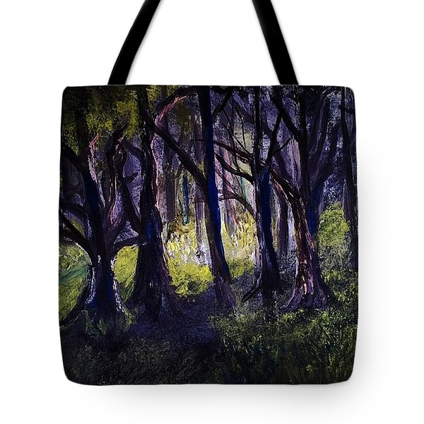 Light In The Forrest Tote Bag