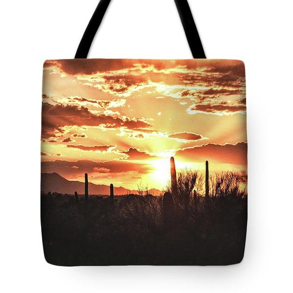 Light Of Arizona Tote Bag