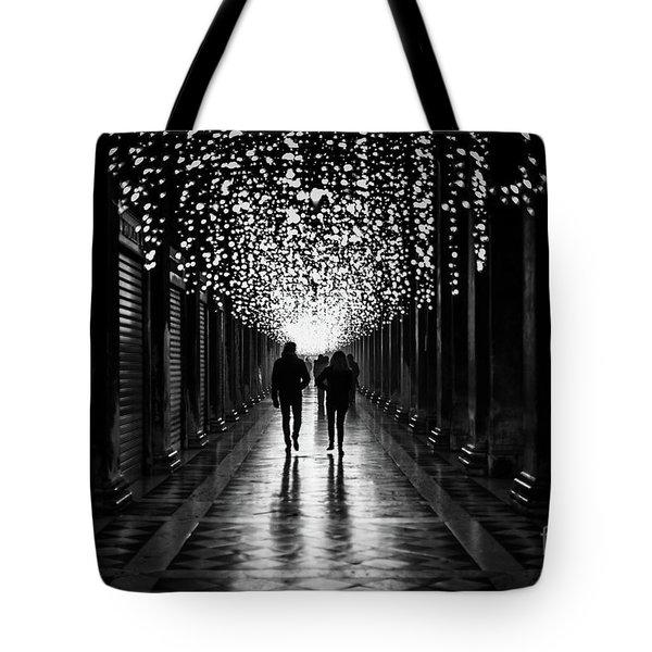 Light, Shadows And Symmetry Tote Bag