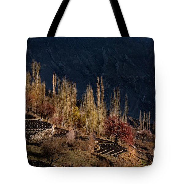 Light Slide Tote Bag