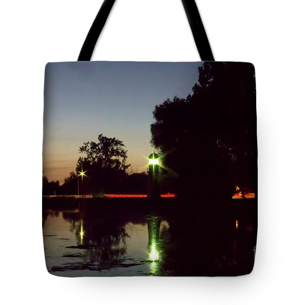 Lighthouse Light Tote Bag
