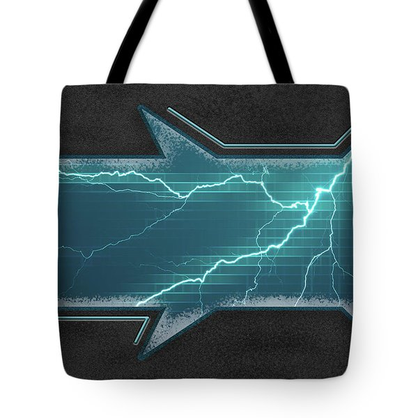 Lightning-centric Tote Bag