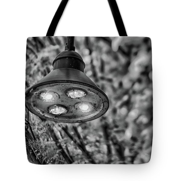 Lights In Town Tote Bag