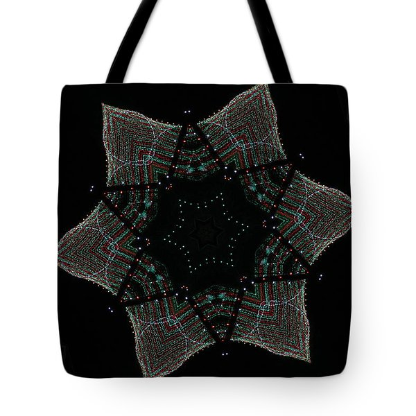 Lights Within A Star Tote Bag