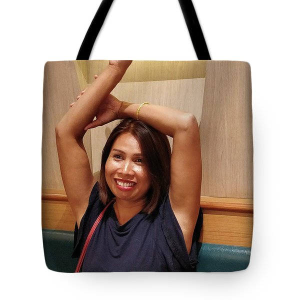 Tote Bag featuring the photograph Like This? by Jeremy Holton