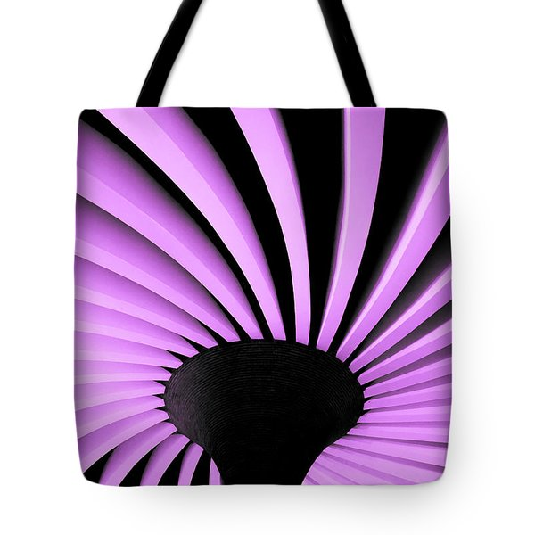 Lilac Fan Ceiling Tote Bag