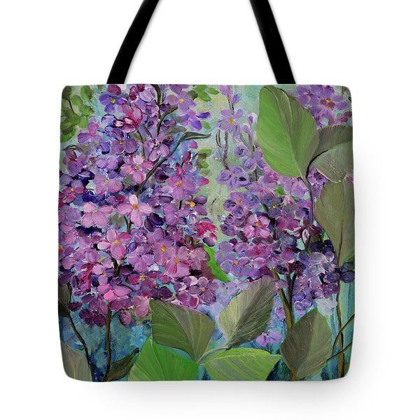 Lilac Love Tote Bag