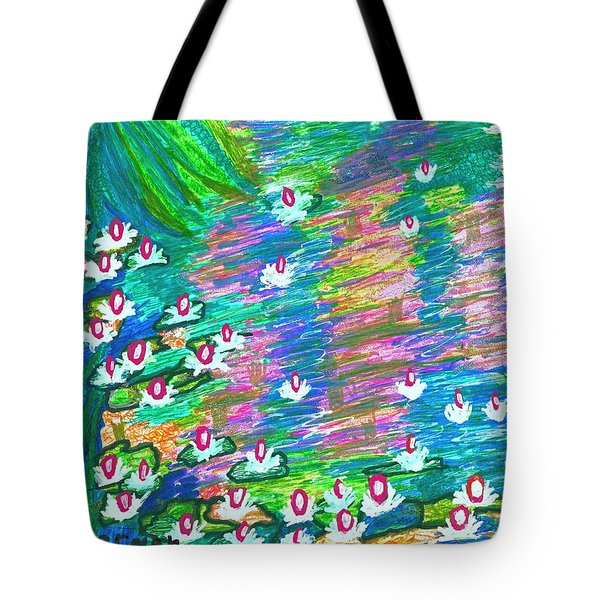 Lilies Of The Pond Tote Bag