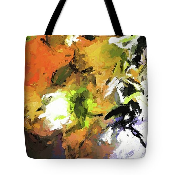 Lily For The Horses Tote Bag