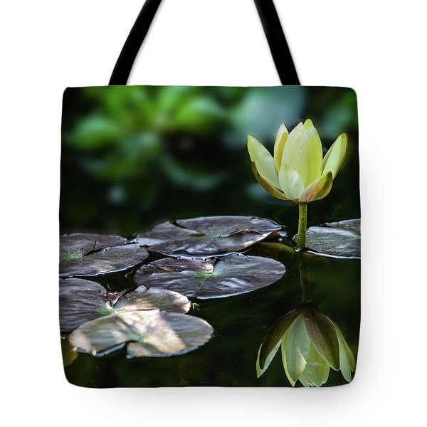 Lily In The Pond Tote Bag