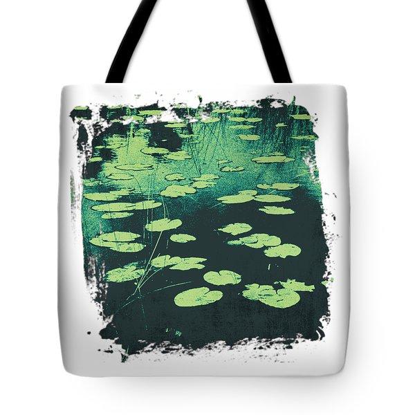 Lily Pad Tote Bag