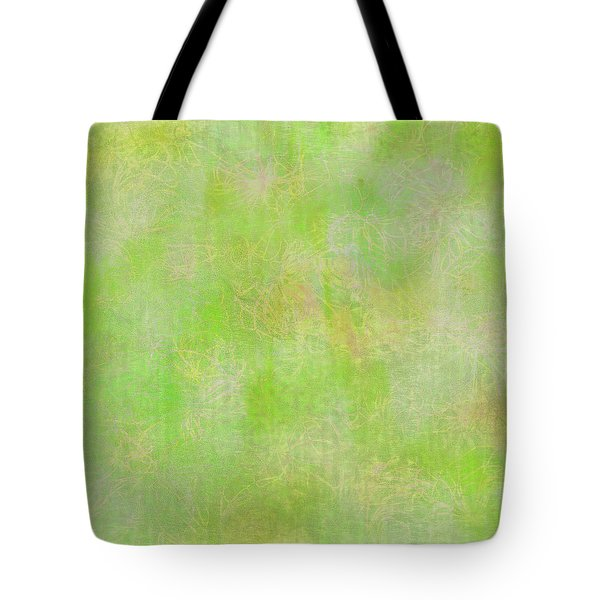 Lime Batik Print Tote Bag