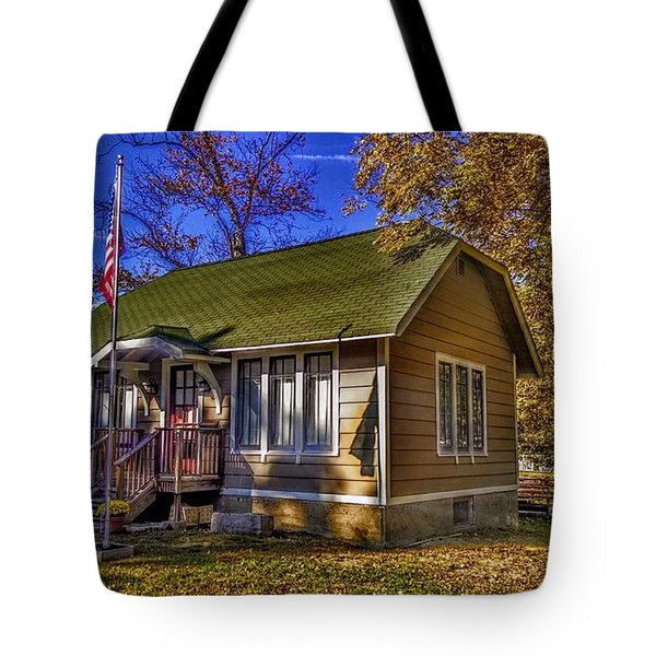 Lincoln Park History Museum Tote Bag