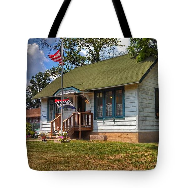 Lincoln Park History Museum - Vintage Tote Bag