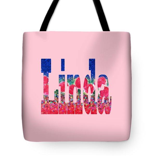 Tote Bag featuring the digital art Linda by Corinne Carroll