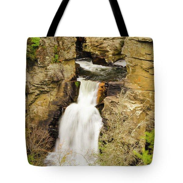 Linville Falls - Closeup Tote Bag