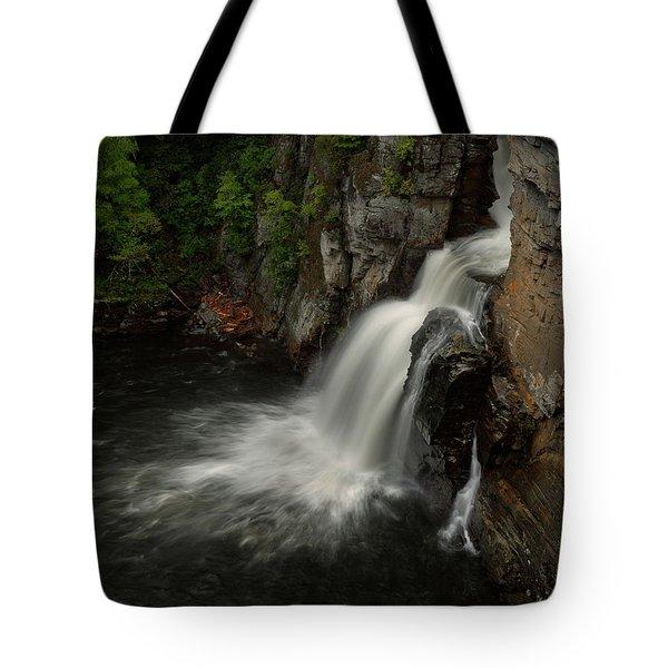 Linville Falls - Linville Gorge North Carolina Tote Bag