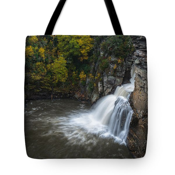 Linville Falls Tote Bag