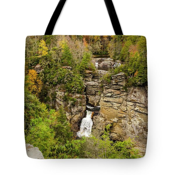 Linville Falls - Wide View Tote Bag