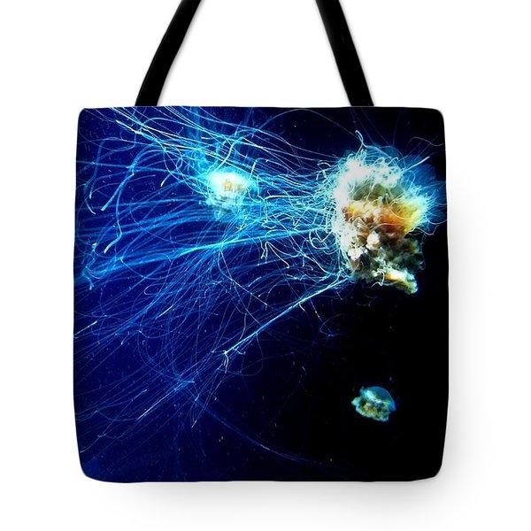 Lion-head Jellyfish  Tote Bag