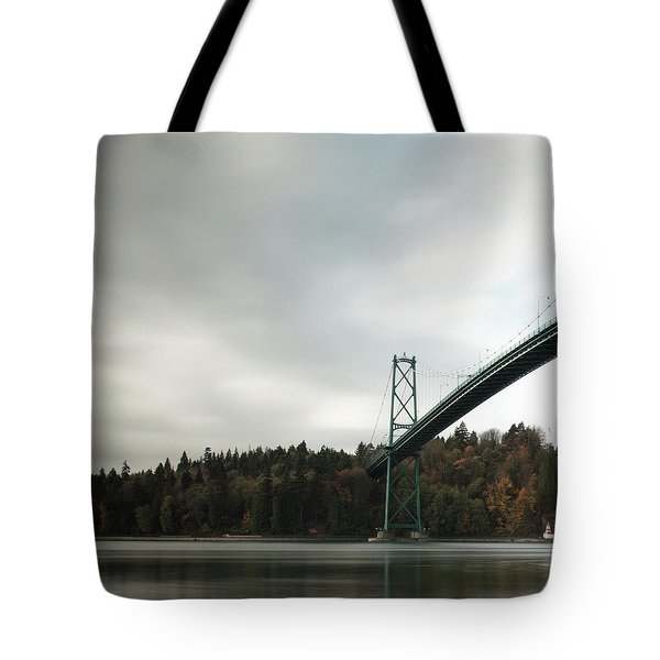 Lions Gate Bridge Vancouver Tote Bag