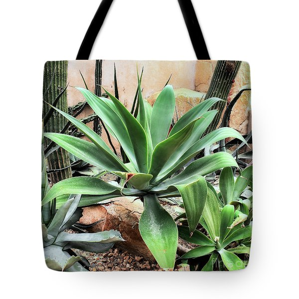 Lion's Tail Agave Tote Bag