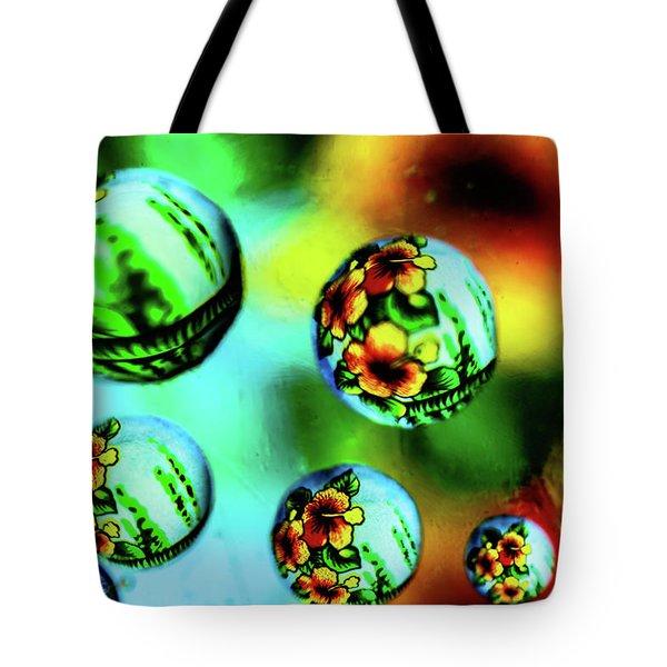 Liquid Lenses Tote Bag