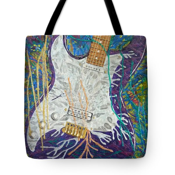 Liquid Metal Tote Bag
