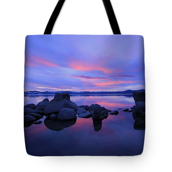Tote Bag featuring the photograph Liquid Serenity  by Sean Sarsfield