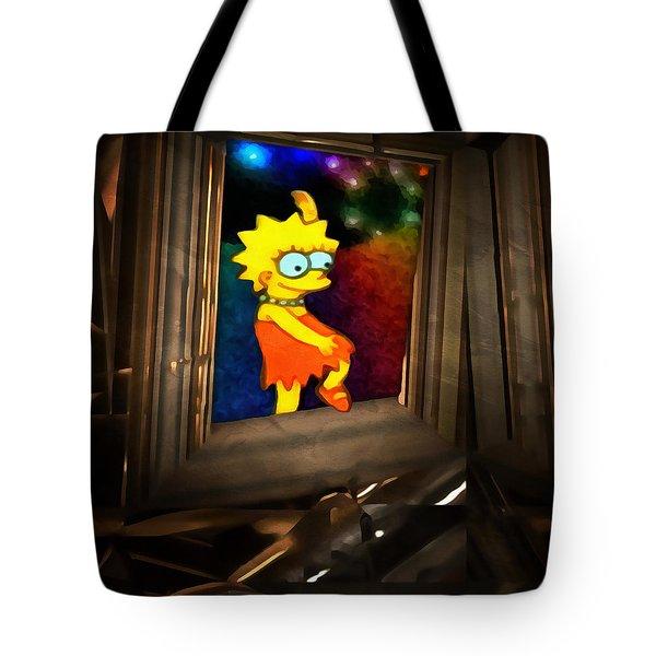 Lisa Steps Out Tote Bag