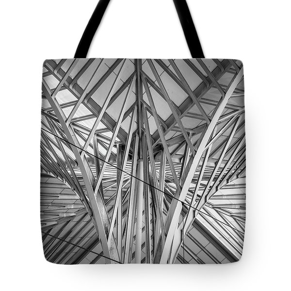 Lisbon Train Station 8595 Tote Bag