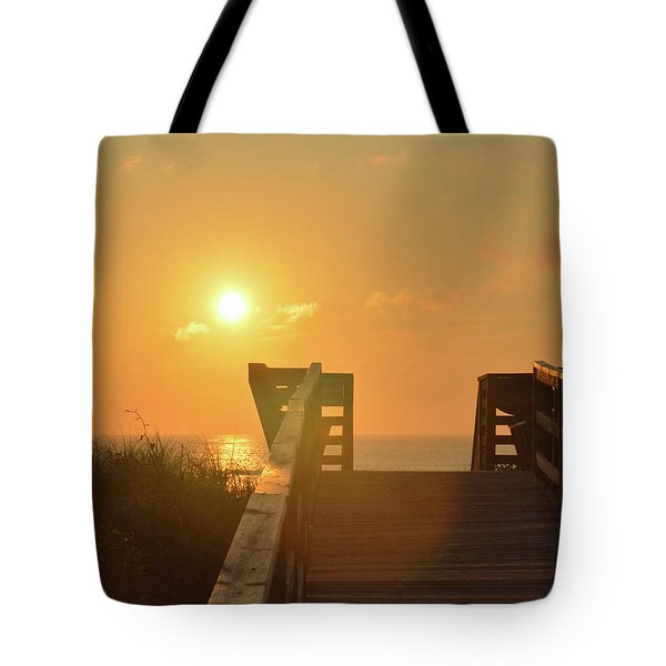 Listen To The Sunrise Tote Bag