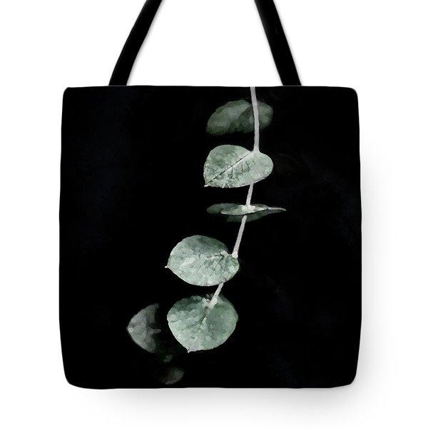 Tote Bag featuring the digital art Listening To Silence by Menega Sabidussi