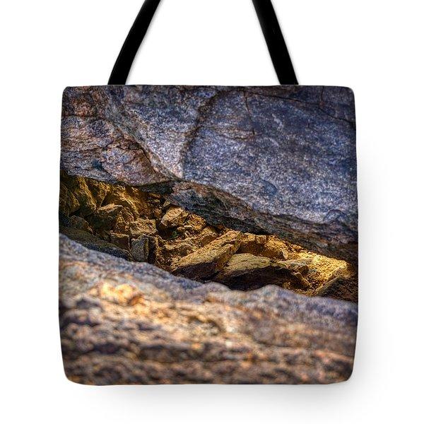 Lit Rock Tote Bag
