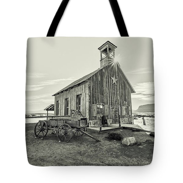 Tote Bag featuring the photograph Little Far West by Andy Crawford