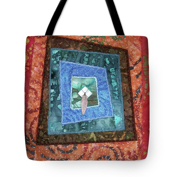 Little Feather Tote Bag
