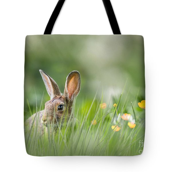 Little Hare Tote Bag