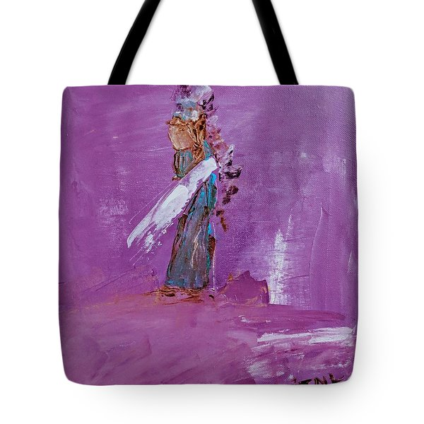 Little Indian Angel Tote Bag
