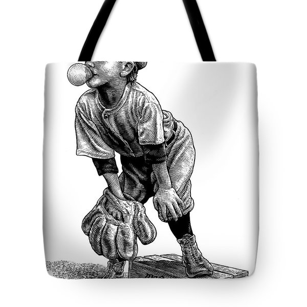 Little Leaguer Tote Bag