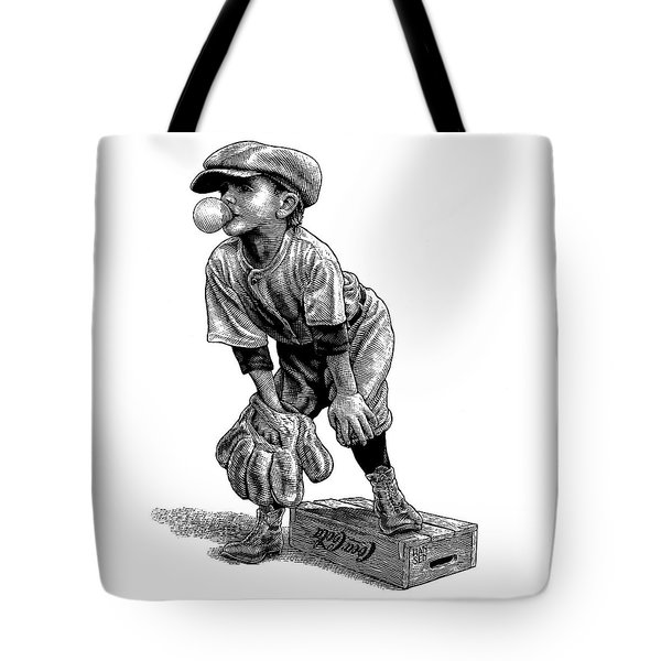 Little Leaguer Tote Bag