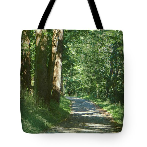 Little Lehigh Parkway Path Tote Bag