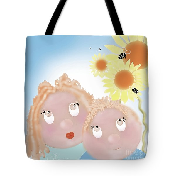 Little Ms And Bro Tote Bag