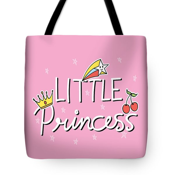 Little Princess - Baby Room Nursery Art Poster Print Tote Bag