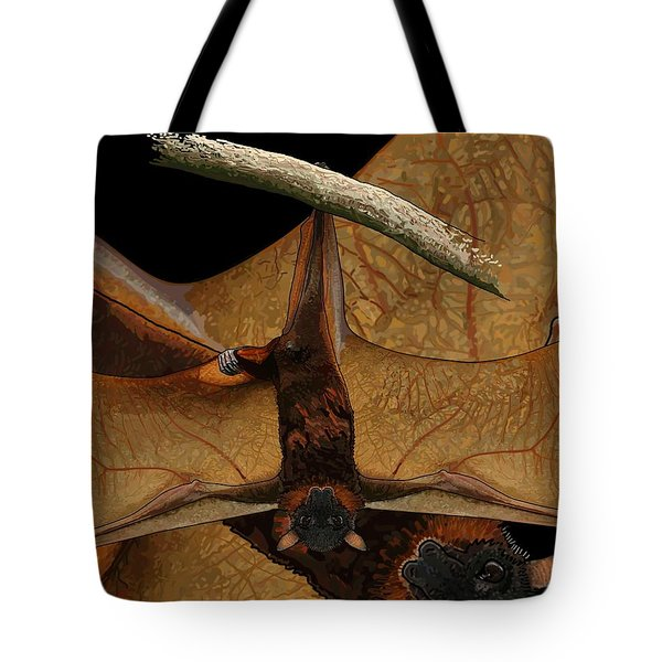 Little Red Flying Fox 2 Tote Bag