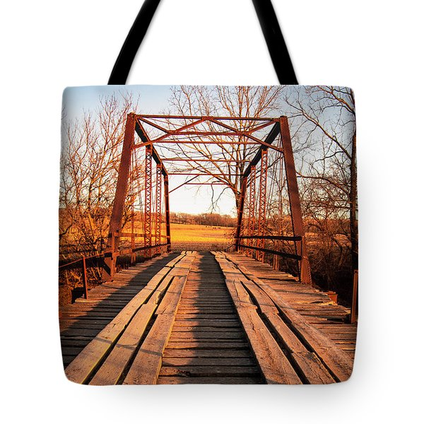 Little River Bridge Tote Bag