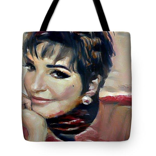 liza Minelli Tote Bag